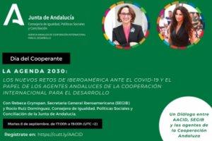 Abiertas inscripciones para encuentro AACID: 'Agenda 2030: retos de Iberoamérica…