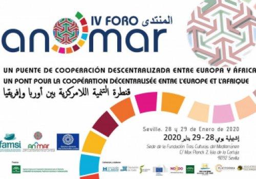 El IV Foro An^Mar incluye un espacio temático sobre 'ODS y la Agenda 2030'